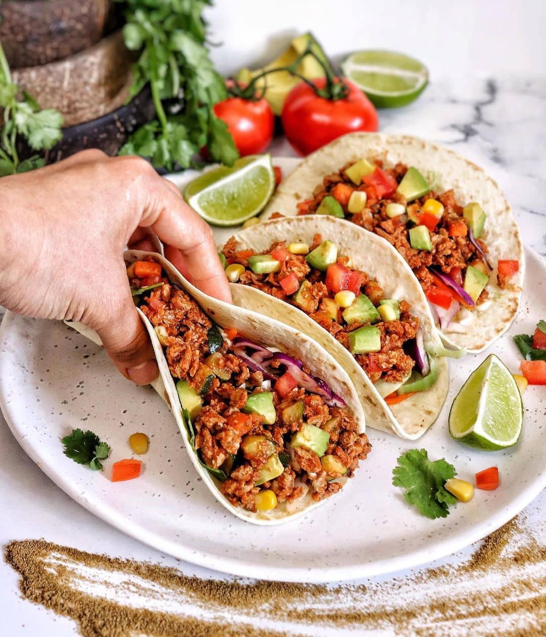 mexican mince tacos by run2food display image  5cd40adc