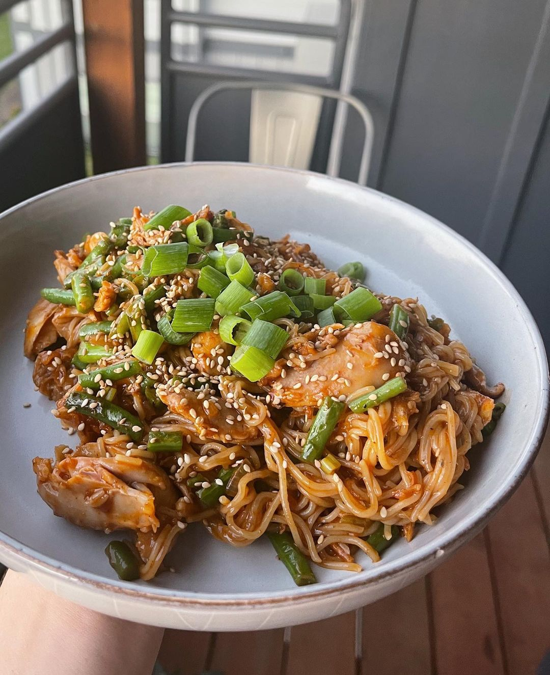sweet & spicy noodle bowl display image  e93dc9ed