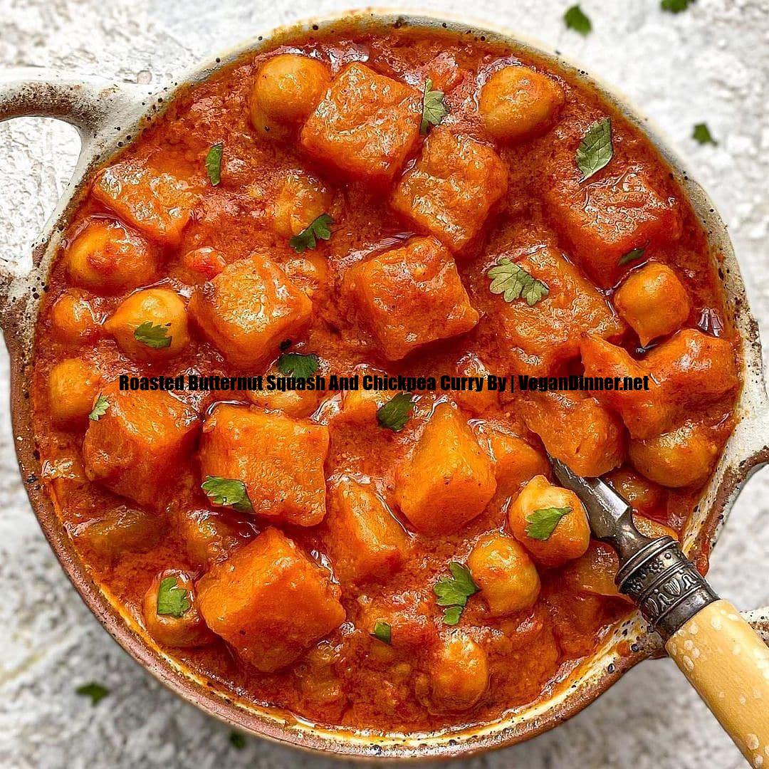 roasted butternut squash and chickpea curry by display image dcdcd