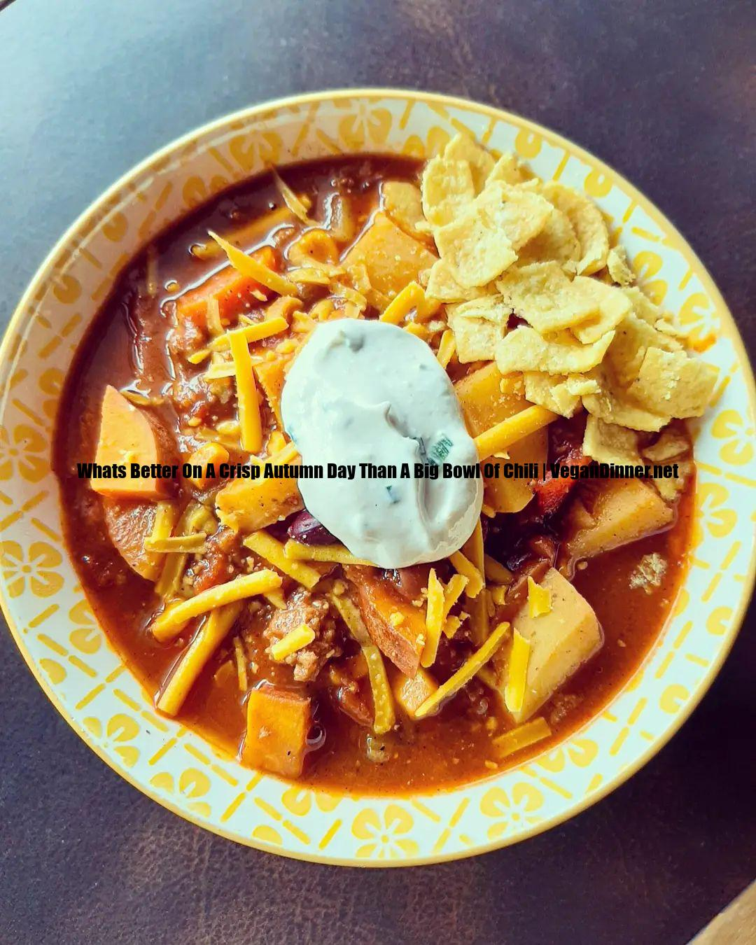 whats better on a crisp autumn day than a big bowl of chili multip img efd