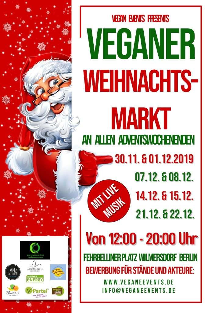 Veganer Weihnachtsmarkt 2019 Berlin Vegane Events