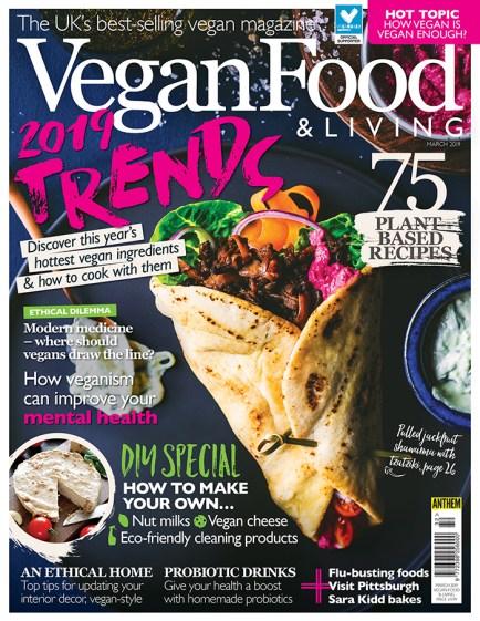 Vegan Food & Living March 2019