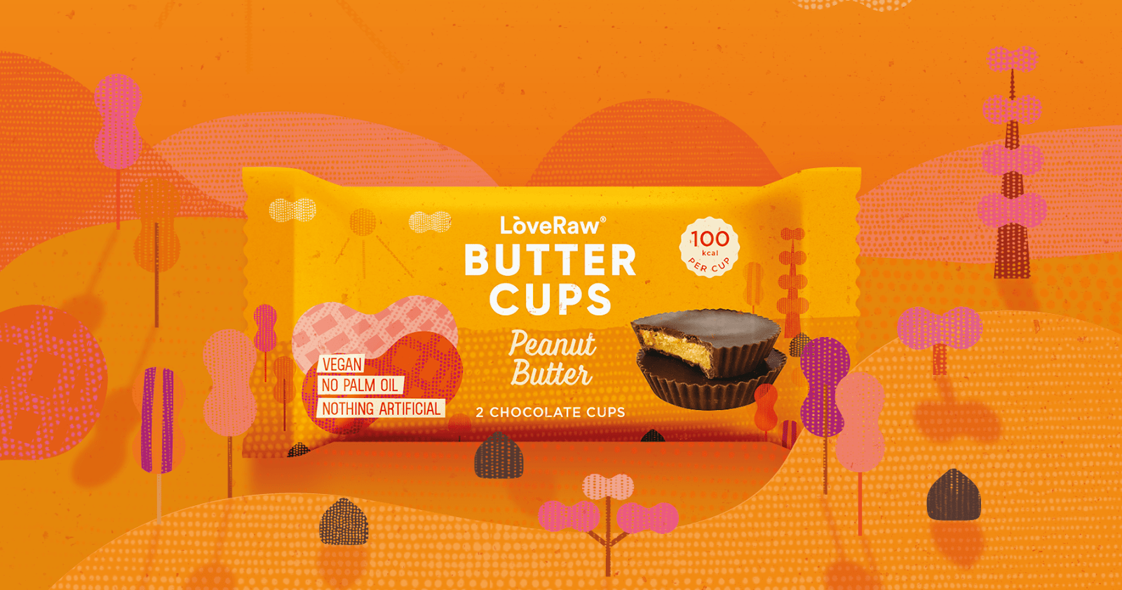 Palm-oil free and sugar-free vegan peanut butter cups are launching in Waitrose