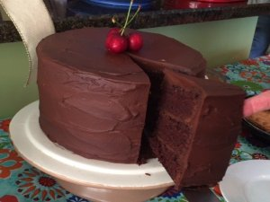 Decadent Chocolate Stout Cake