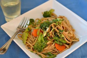 Decked-Out Noodles with Veggies