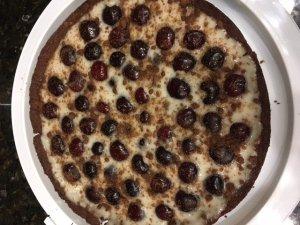 Fresh Bing Cherry Tart