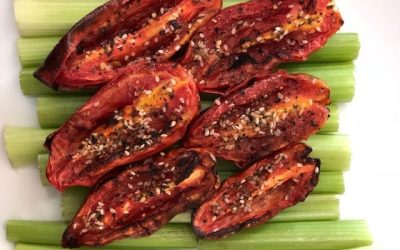 Plum Tomatoes – Roasted Air-Fried and Delicious!