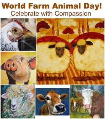 World Farm Animal Day – October 2