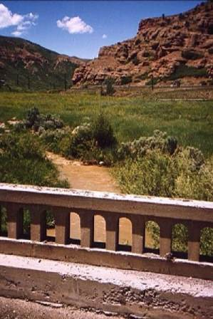 Bridge at the mouth of Echo Canyon Photo by C.N. Plummer