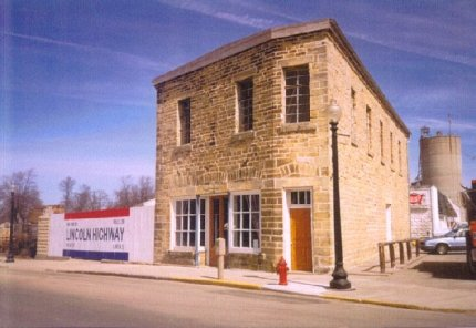 National Headquarters of the Lincoln Highway Association in Franklin Grove Photo by Ruth Frantz