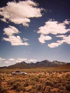 "Nevada's ""Loneliest Road"" Photo by C.N. Plummer"