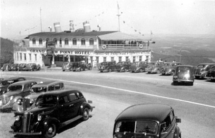 The Grand View Point Hotel, as it looked in the 1930s Photos provided by Brian Butko