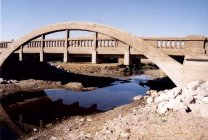 1919 James Marsh Bridge, over Beaver Creek, west of Ames Photos by Paul Walker
