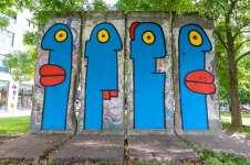 Murale nella Potsdamer Platz