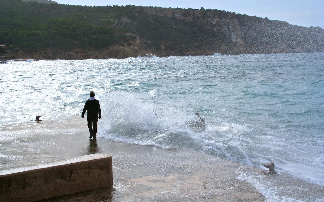 wildes Meer in Sant Elm
