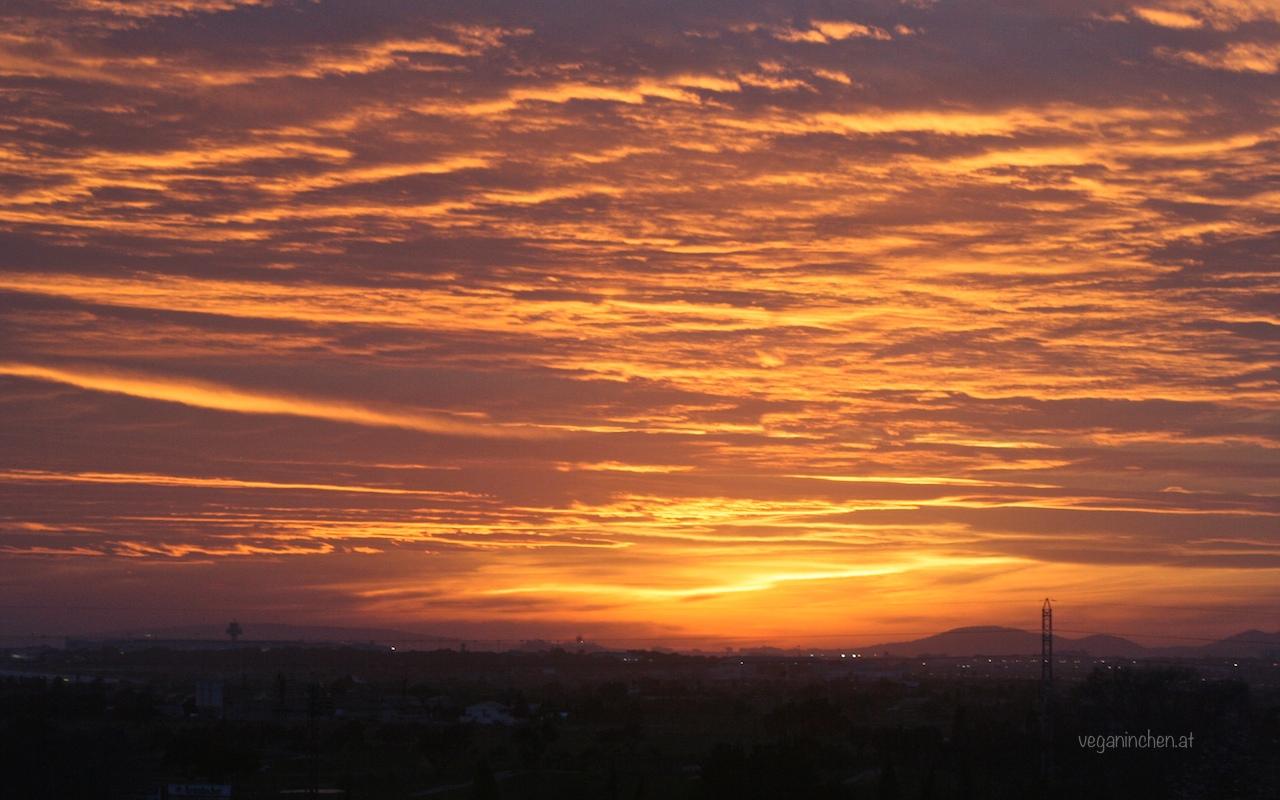 Mallorca Abendhimmel