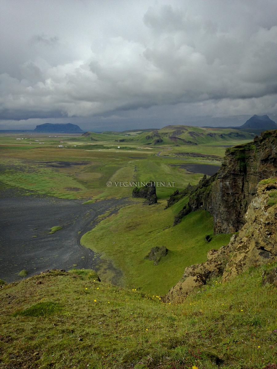 Landschaft Südküste Island