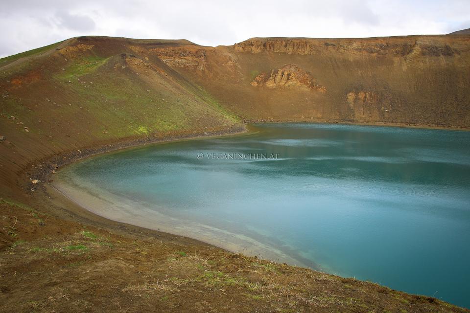 Viti Kratersee Island Krafla