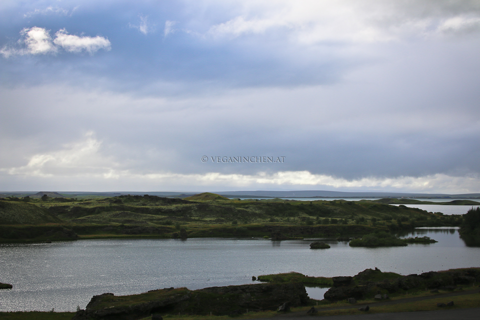 Mývatn Lake Island