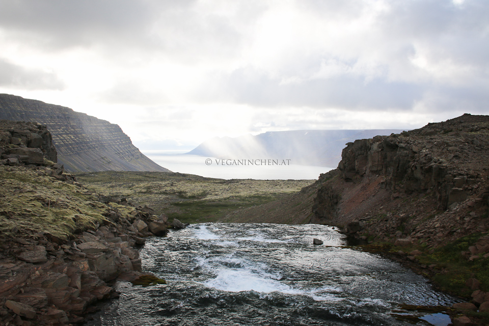 Dynjandi Westfjorde Island veganinchen