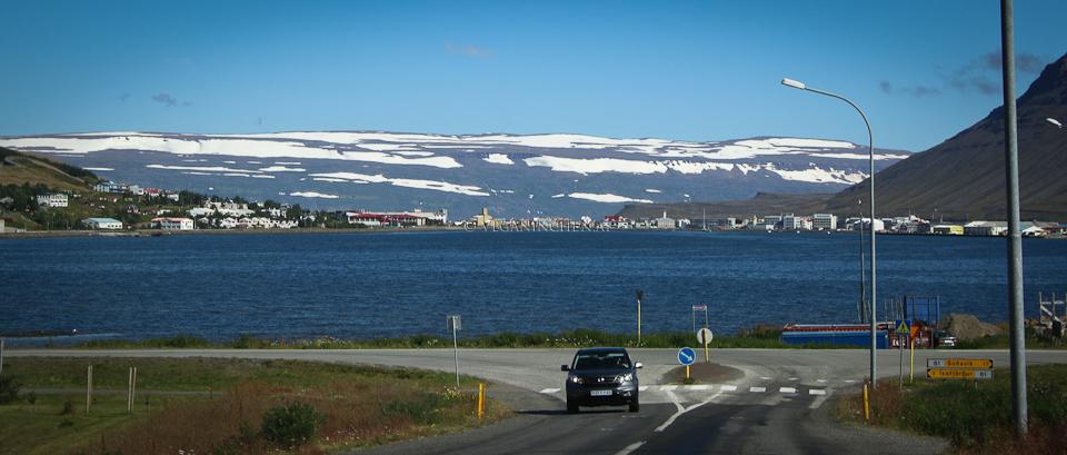 Ísafjörður Westfjorde Island veganinchen