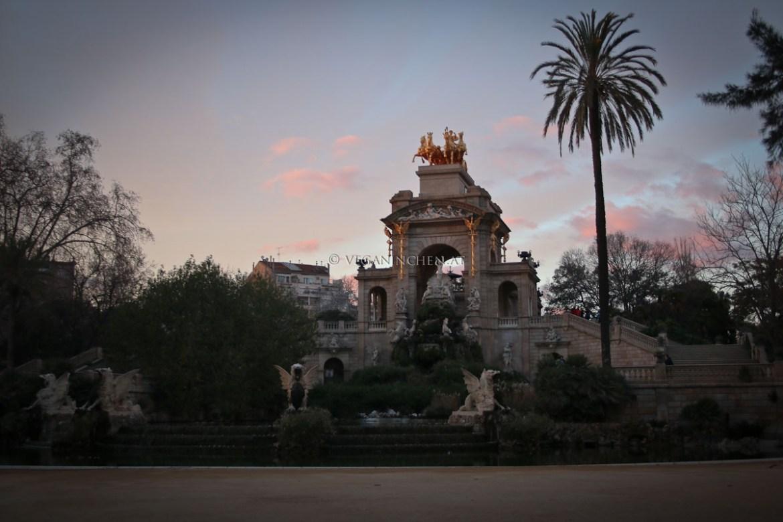 Font de la Cascada Park Ciutadella Barcelona veganinchen