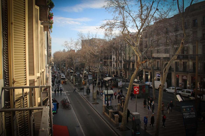 La Rambla Barcelona veganinchen