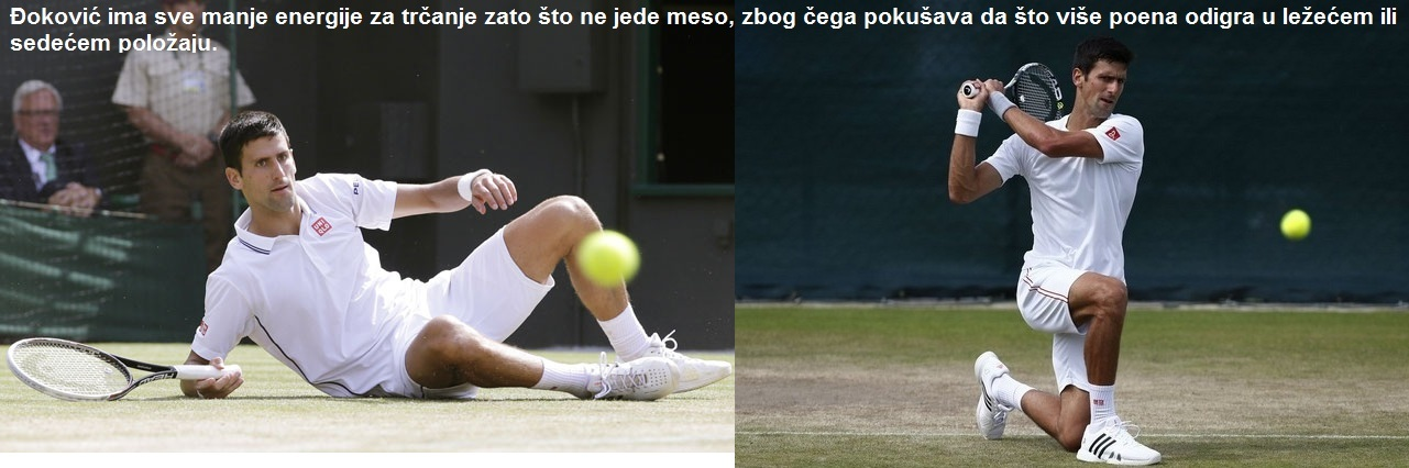 Novak Djokovic vegan