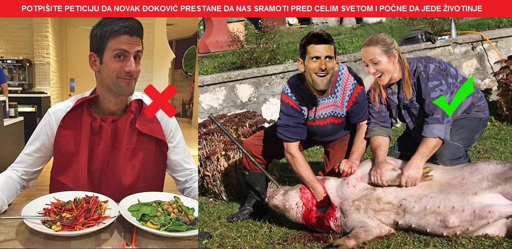Peticija za Novaka Djokovica