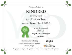 Best Brunch 2016 Kindred