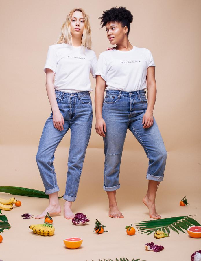 The Be A Nice Human Shirt - Veganized World Apparel
