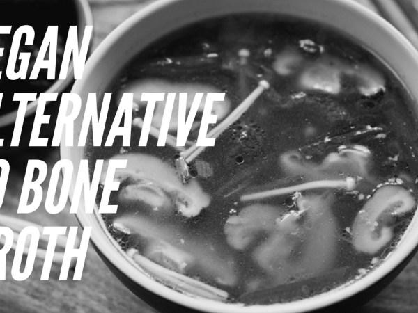 Vegan alternative to the bone broth trend: miso dashi broth
