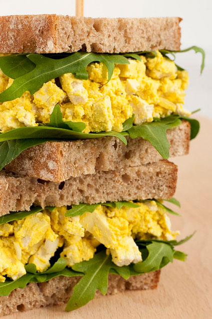 Vegan Egg Salad Sandwich from My Pure Plants