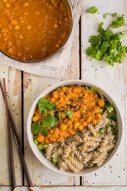 Chickpea Tomato Curry on NutriPlanet