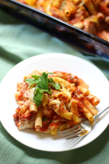 Gluten-Free Baked Ziti Pasta by Strength and Sunshine