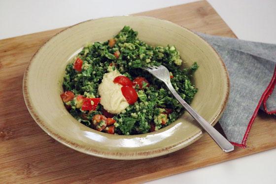 Avocado Dressing Recipe for Creamy Vegan Kale Salad