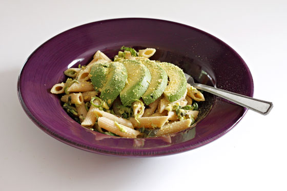 Avocado-Lime Pasta