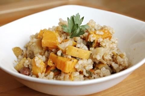 Spiced Pear & Sweet Potato Casserole