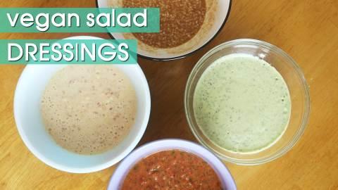 6 Delicious Vegan Salad Dressing Recipes