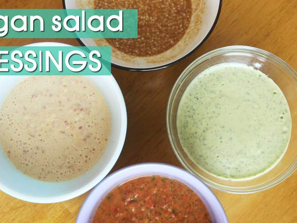 6 Delicious Vegan Salad Dressing Recipes