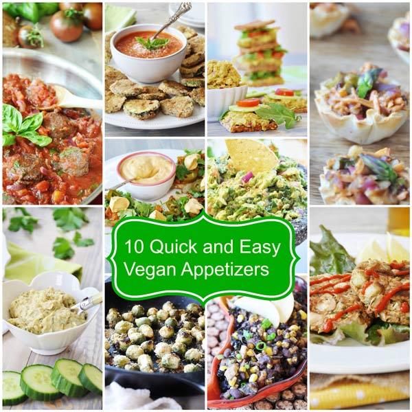 10 Quick and Easy Vegan Appetizers - Veganosity