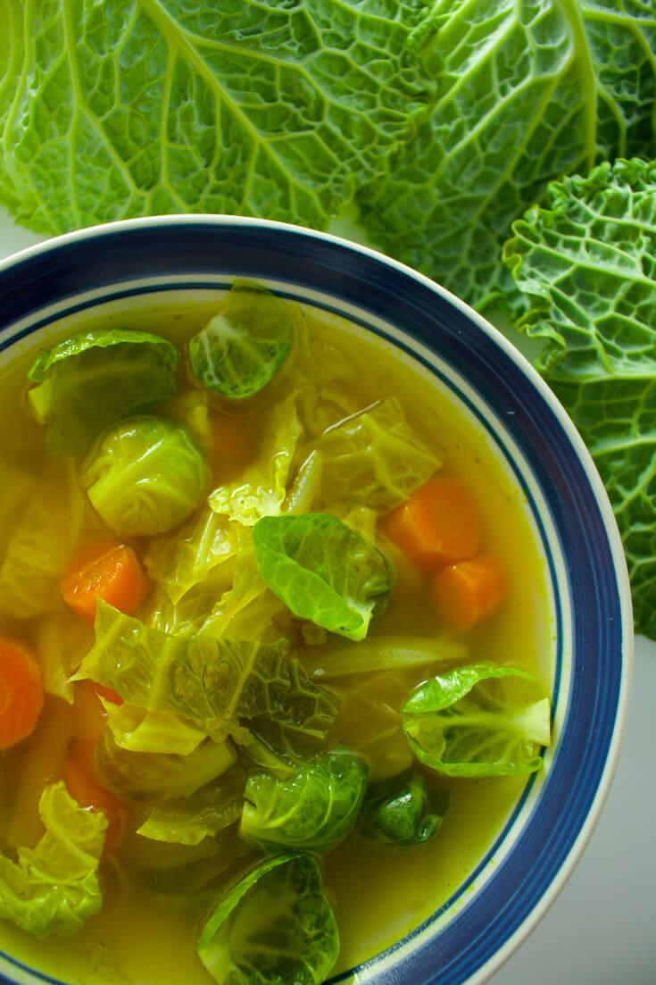 Restorative Vegan Cabbage Soup Vegan Program