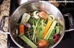 How to make easy and cheap veggie broth at home