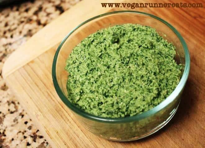 Easy Vegan Kale & Cashew Pesto Recipe