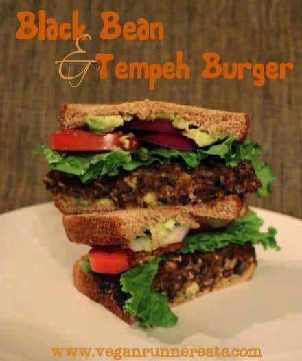burger stacked (2) vert'l with text