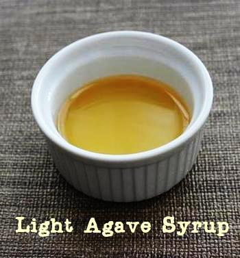 Light agave syrup