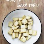 Vegan Kitchen Simplified: How to Bake Tofu with Little to No Oil
