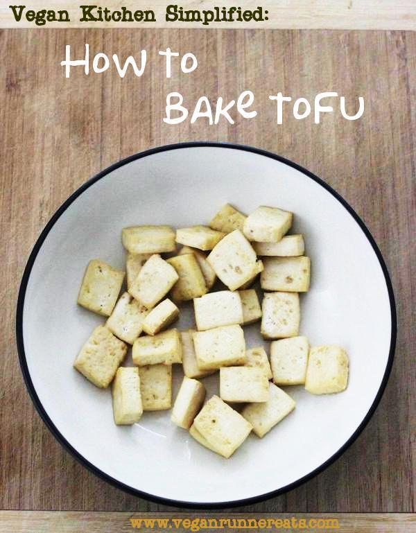 How to bake tofu with no oil