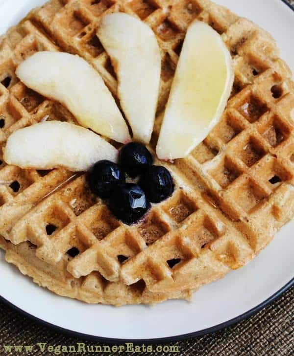 Easy-Peasy Vegan Waffles from Scratch - Get Your Breakfast on in No Time!