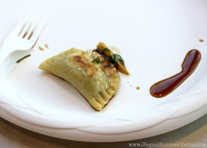 Cooked dumpling